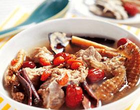 海马羊肉汤