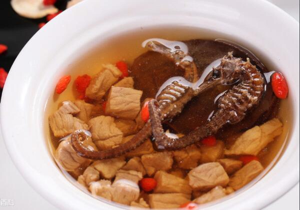 海马煲瘦肉汤的做法 海马瘦肉汤功效